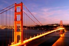Χρυσή γέφυρα πυλών στοκ φωτογραφία