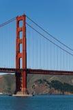 Χρυσή γέφυρα πυλών - ακρωτήρια του Marin Στοκ Εικόνες