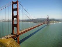 Χρυσή γέφυρα πυλών - Σαν Φρανσίσκο - Ηνωμένες Πολιτείες Στοκ Εικόνες
