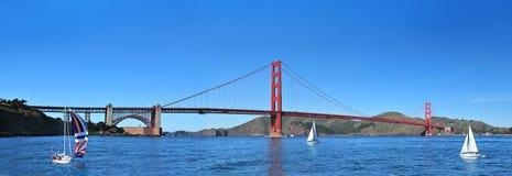 Χρυσή γέφυρα πυλών, Σαν Φρανσίσκο, Καλιφόρνια ΗΠΑ Στοκ εικόνα με δικαίωμα ελεύθερης χρήσης