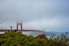 Χρυσή γέφυρα πυλών Σαν Φρανσίσκο - Καλιφόρνια στοκ εικόνα με δικαίωμα ελεύθερης χρήσης