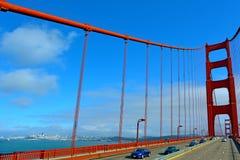 Χρυσή γέφυρα πυλών στο Σαν Φρανσίσκο - ασβέστιο Στοκ εικόνες με δικαίωμα ελεύθερης χρήσης