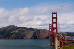 Χρυσή γέφυρα πυλών στο Σαν Φρανσίσκο, Καλιφόρνια Στοκ Φωτογραφία