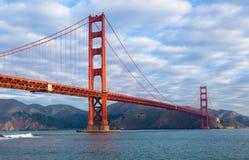 Χρυσή γέφυρα πυλών στο Σαν Φρανσίσκο Στοκ Εικόνες