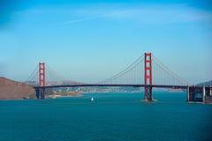 Χρυσή γέφυρα πυλών του Σαν Φρανσίσκο, Καλιφόρνια στοκ φωτογραφία
