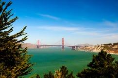 Χρυσή γέφυρα πυλών του Σαν Φρανσίσκο, Καλιφόρνια στοκ εικόνα με δικαίωμα ελεύθερης χρήσης