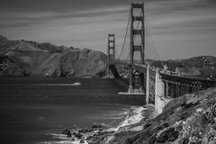 Χρυσή γέφυρα πυλών του Σαν Φρανσίσκο Στοκ φωτογραφίες με δικαίωμα ελεύθερης χρήσης