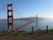 Χρυσή γέφυρα πυλών του Σαν Φρανσίσκο Στοκ Εικόνα