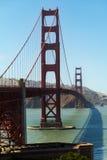 Χρυσή γέφυρα πυλών στοκ εικόνες με δικαίωμα ελεύθερης χρήσης
