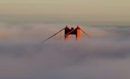 Χρυσή γέφυρα πυλών Στοκ Φωτογραφίες