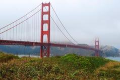 Χρυσή γέφυρα στοκ εικόνα