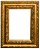 χρυσή εικόνα πλαισίων Στοκ εικόνα με δικαίωμα ελεύθερης χρήσης