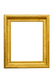 χρυσή εικόνα πλαισίων στοκ φωτογραφία με δικαίωμα ελεύθερης χρήσης