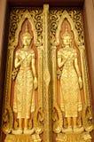 Χρυσή εικόνα του Βούδα Στοκ Εικόνα