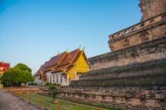 Χρυσή εκκλησία στον ταϊλανδικό ναό, Ταϊλάνδη στοκ εικόνα με δικαίωμα ελεύθερης χρήσης