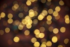 Χρυσή ελαφριά ανασκόπηση Στοκ εικόνες με δικαίωμα ελεύθερης χρήσης