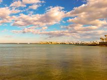 Χρυσή Ερυθρά Θάλασσα στοκ φωτογραφία με δικαίωμα ελεύθερης χρήσης