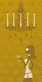 χρυσή ζωή Στοκ Εικόνα