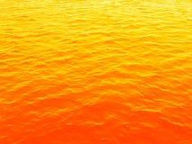 χρυσή θάλασσα Στοκ Φωτογραφίες