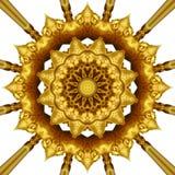 Χρυσή διακόσμηση Στοκ Εικόνα