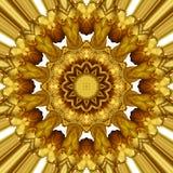 Χρυσή διακόσμηση Στοκ φωτογραφία με δικαίωμα ελεύθερης χρήσης