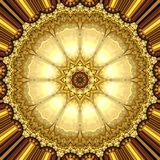 Χρυσή διακόσμηση Στοκ εικόνα με δικαίωμα ελεύθερης χρήσης