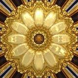 Χρυσή διακόσμηση Στοκ Φωτογραφία