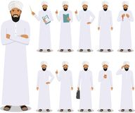χρυσή ιδιοκτησία βασικών πλήκτρων επιχειρησιακής έννοιας που φθάνει στον ουρανό Λεπτομερής απεικόνιση της μουσουλμανικής ή ινδική Στοκ Εικόνες