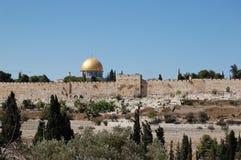 χρυσή Ιερουσαλήμ Στοκ Εικόνες