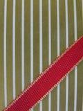 χρυσή κορδέλλα εγγράφο&upsil Στοκ εικόνα με δικαίωμα ελεύθερης χρήσης
