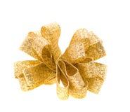 χρυσή κορδέλλα Στοκ εικόνα με δικαίωμα ελεύθερης χρήσης