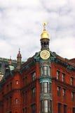 χρυσή κορυφή Στοκ εικόνα με δικαίωμα ελεύθερης χρήσης