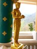 Χρυσή κυρία Στοκ Φωτογραφίες