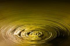 χρυσή λίμνη Στοκ φωτογραφία με δικαίωμα ελεύθερης χρήσης