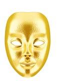 χρυσή μάσκα Στοκ εικόνα με δικαίωμα ελεύθερης χρήσης
