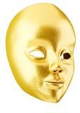 χρυσή μάσκα Στοκ φωτογραφία με δικαίωμα ελεύθερης χρήσης