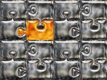 χρυσή μεταλλική piese επιφάνε&i διανυσματική απεικόνιση