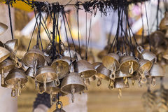 Χρυσή ομάδα κουδουνιών Στοκ Εικόνες