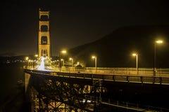 Χρυσή δομή γεφυρών πυλών στο Σαν Φρανσίσκο Στοκ εικόνες με δικαίωμα ελεύθερης χρήσης