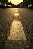 χρυσή οδός Στοκ φωτογραφίες με δικαίωμα ελεύθερης χρήσης