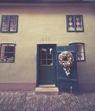 Χρυσή πάροδος στο κάστρο της Πράγας Στοκ εικόνα με δικαίωμα ελεύθερης χρήσης