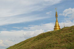 Χρυσή παγόδα, Ταϊλάνδη Στοκ Εικόνα