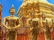 Χρυσή παγόδα wat Phra που Doi Suthep Στοκ εικόνες με δικαίωμα ελεύθερης χρήσης