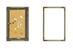 χρυσή παλαιά εικόνα πλαισίων Στοκ φωτογραφία με δικαίωμα ελεύθερης χρήσης
