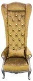 Χρυσή πολυθρόνα Στοκ φωτογραφία με δικαίωμα ελεύθερης χρήσης