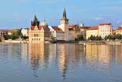 χρυσή Πράγα Στοκ εικόνα με δικαίωμα ελεύθερης χρήσης