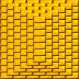 χρυσή πυραμίδα ράβδων Στοκ φωτογραφία με δικαίωμα ελεύθερης χρήσης
