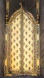 Χρυσή πόρτα Στοκ φωτογραφία με δικαίωμα ελεύθερης χρήσης