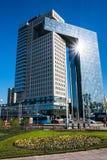 Χρυσή πύλη εμπορικών κέντρων στην εθνική οδό ενθουσιωδών, Μόσχα, Ρωσία Στοκ εικόνα με δικαίωμα ελεύθερης χρήσης