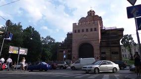 Χρυσή πύλη στο Κίεβο απόθεμα βίντεο
